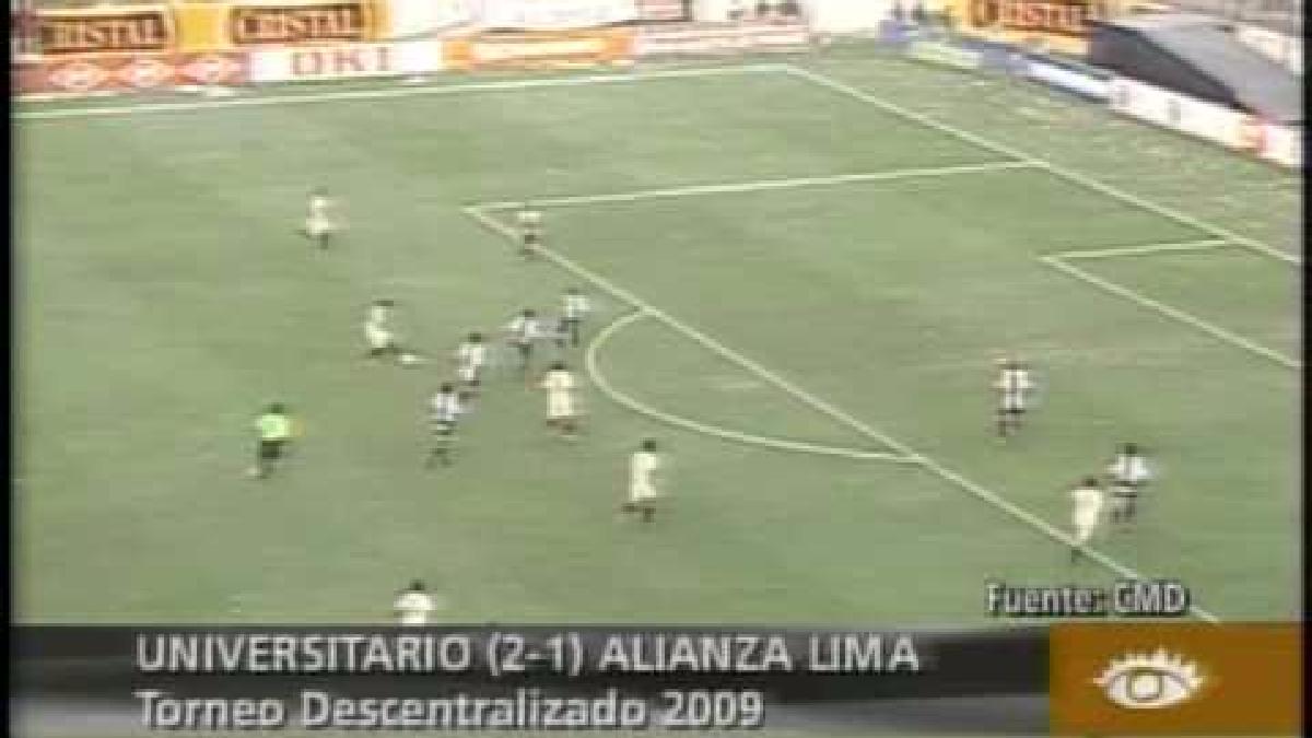 Universitario nunca había remontado un marcador de clásico en el Monumental hasta esa fecha.