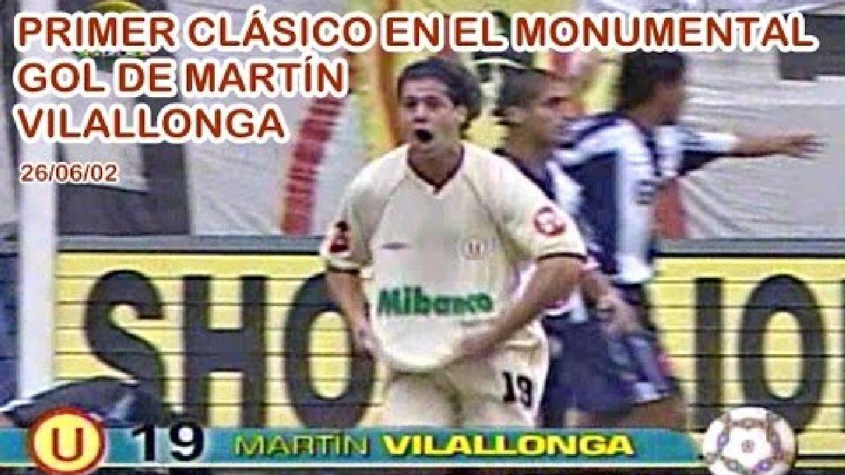 El golazo de cabeza de Martín Vilallonga para el 1-0 final.