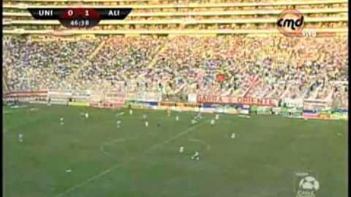El último gol de Alianza Lima en Estadio Monumental que significó una victoria en condición de visita.