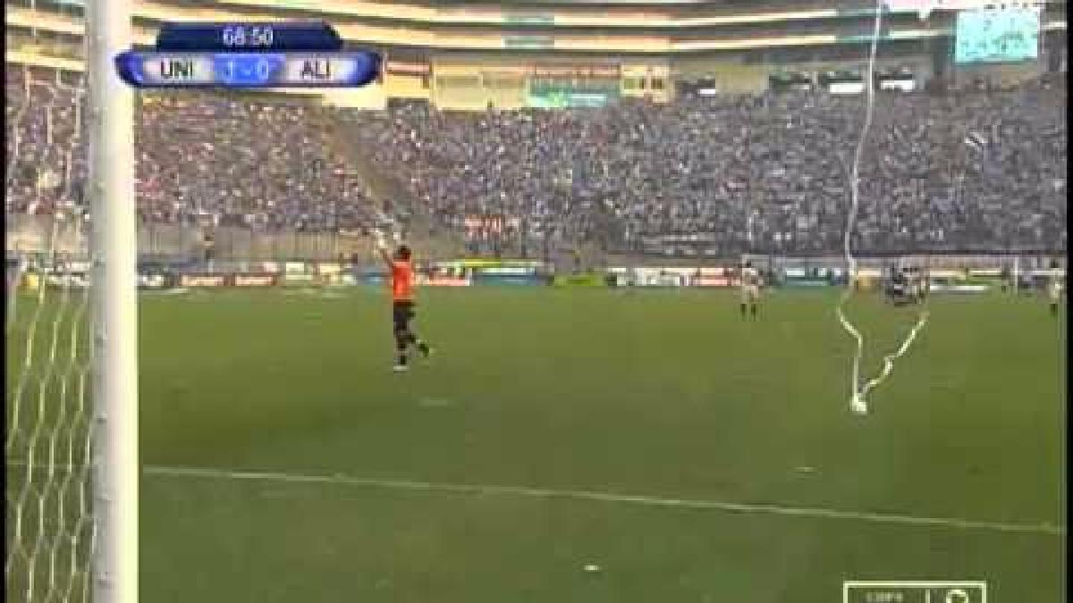Revive el último gol de la 'U' ante Alianza Lima en el Estadio Monumental.