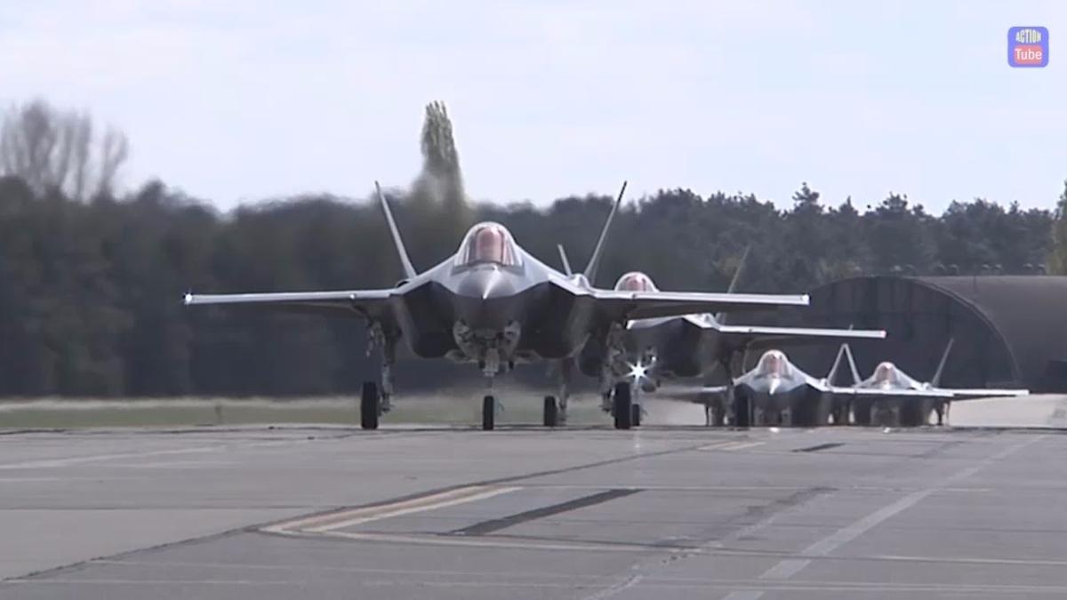 La presencia de los F-35 en Europa también ayuda a EE.UU. a mostrar los jets a los aliados europeos