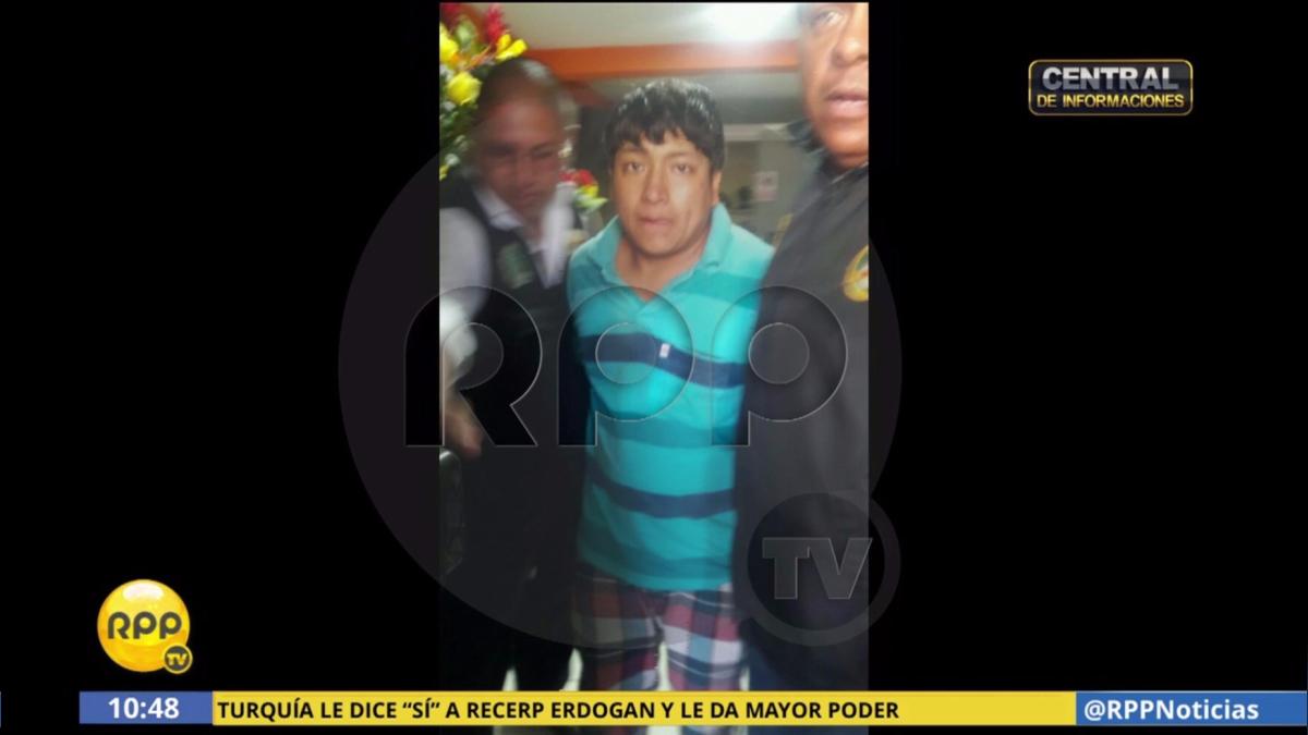 El sujeto se llama Jhon Pizarro Coronel y tiene 26 años