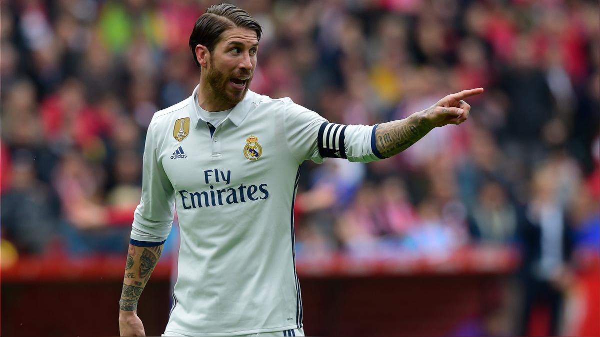 Sergio Ramos tiene 10 goles con el Real Madrid en la temporada 2016/2017.