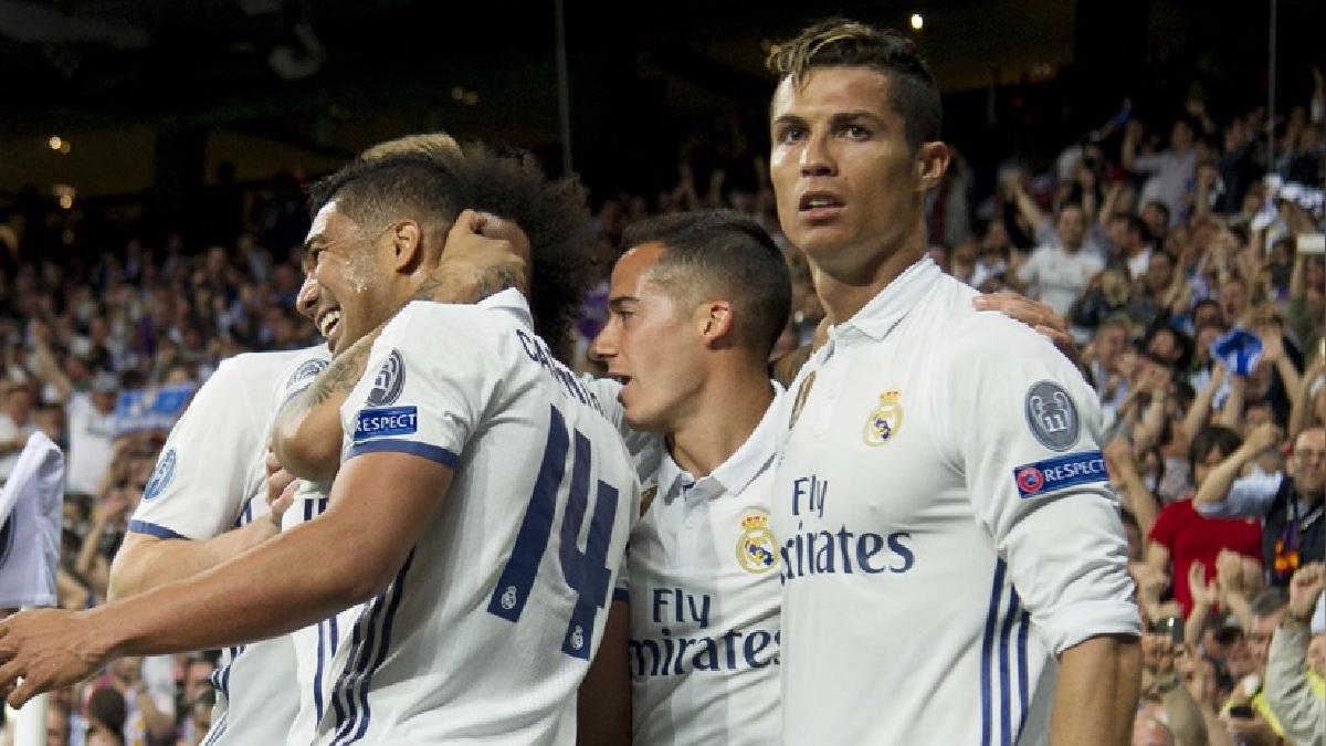 Real Madrid ganó a Bayern Munich en la Champions League.