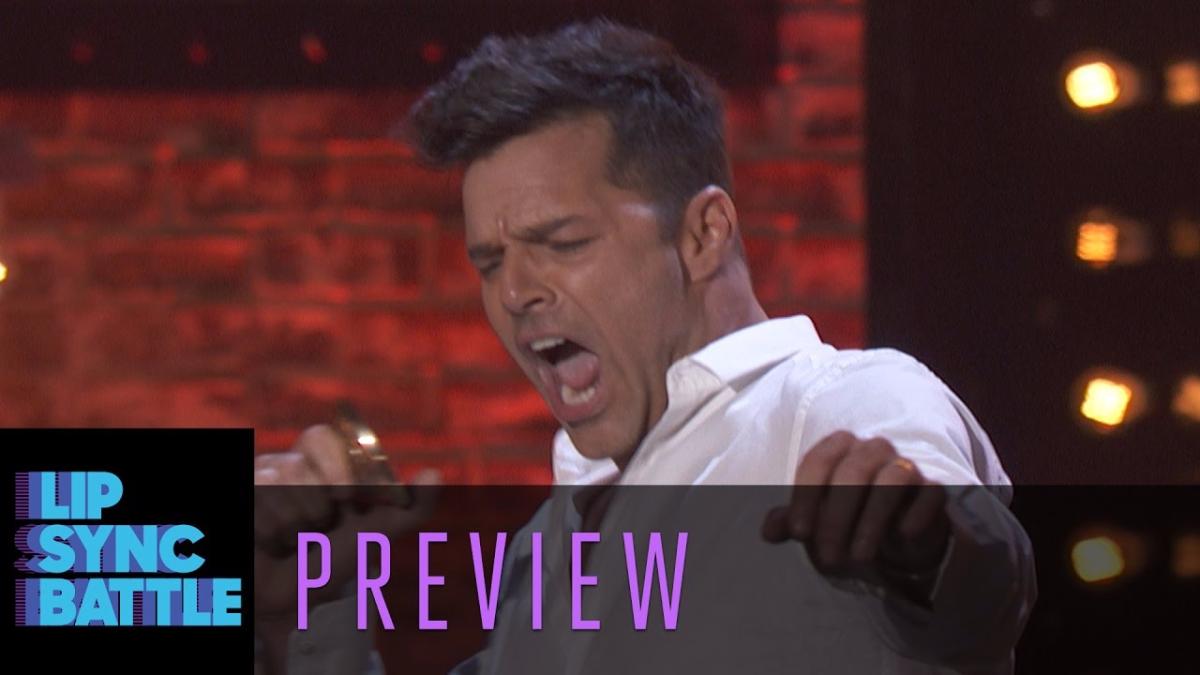 Así fue la presentación de Ricky Martin.