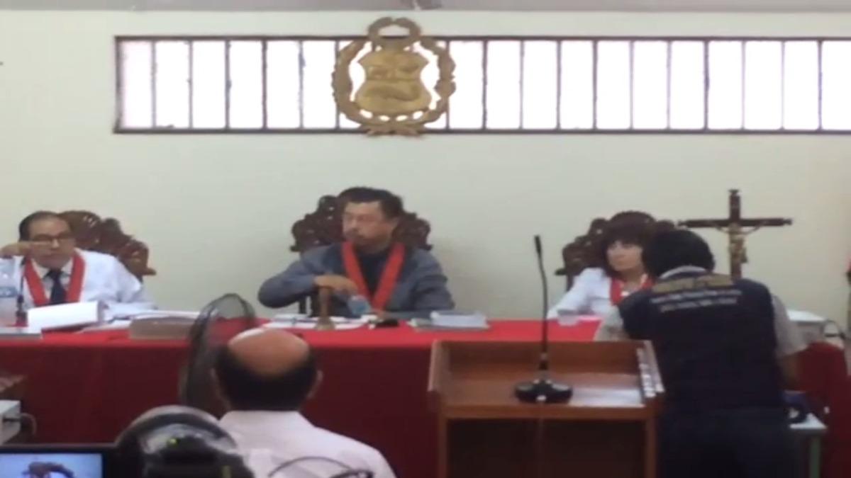 La audiencia se realizó en el penal de Iquitos.
