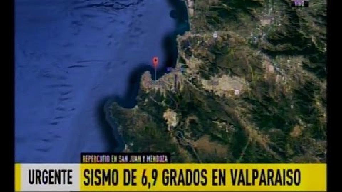 El Servicio Hidrográfico y Oceanográfico de la Armada (SHOA) descartó alerta de tsunami por el momento.