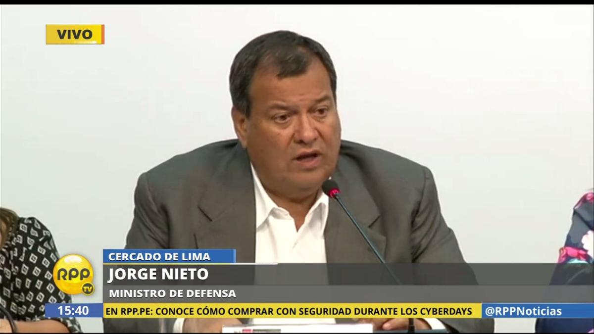 El ministro de Defensa, Jorge Nieto, afirmó que estas medidas buscan fortalecer la democracia interna de los partidos políticos.
