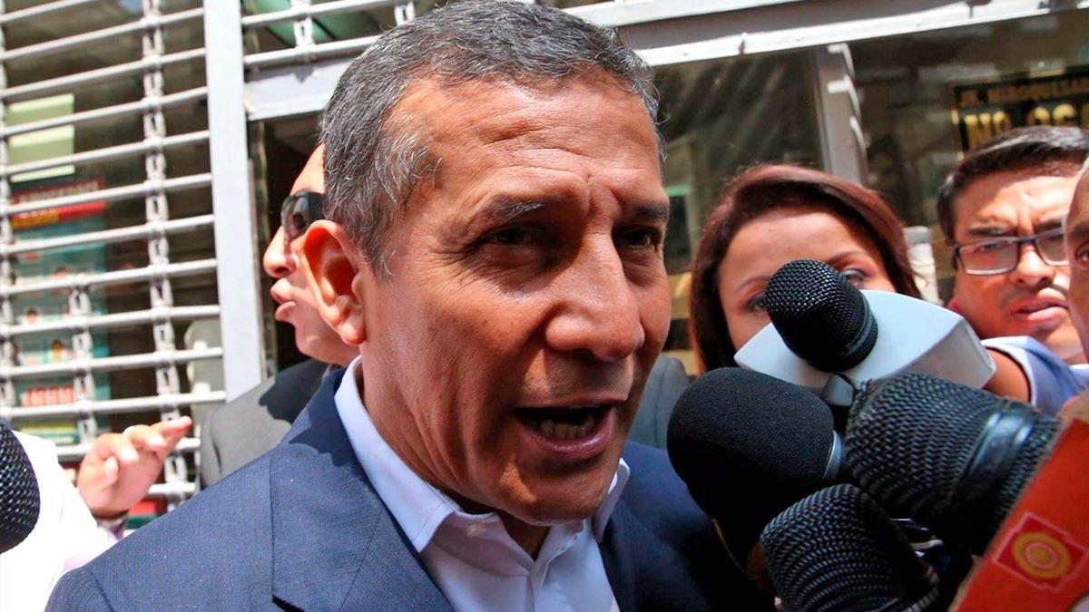 Humala descartó que los audios impliquen a su entorno con sobornos de testigos o aportes irregulares.