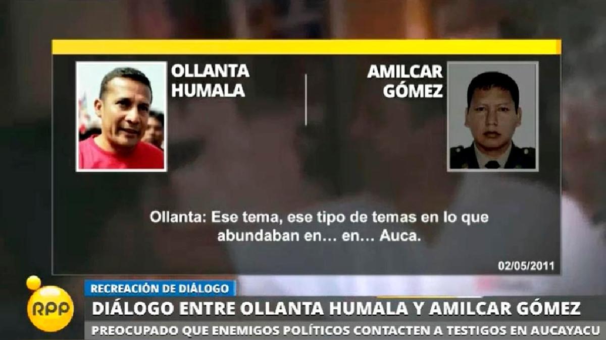 El contenido de los audios fue revelado hoy por el diario El Comercio.