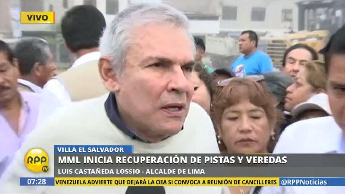 Luis Castañeda se mostró favor de concederle el indulto humanitario a Alberto Fujimori.
