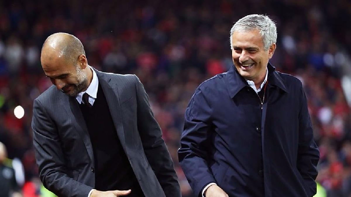 Así nación la rivalidad entre José Mourinho y Josep Guardiola.