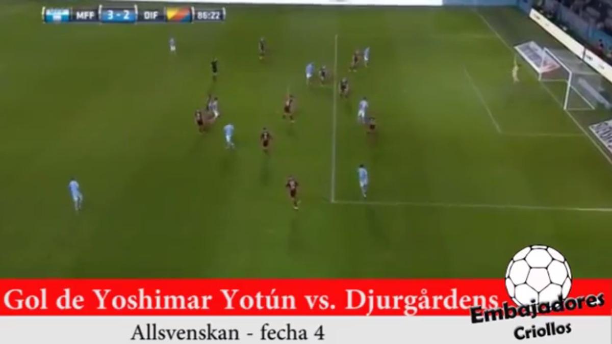 El gol de Yoshimar Yotún fue al minuto 86.