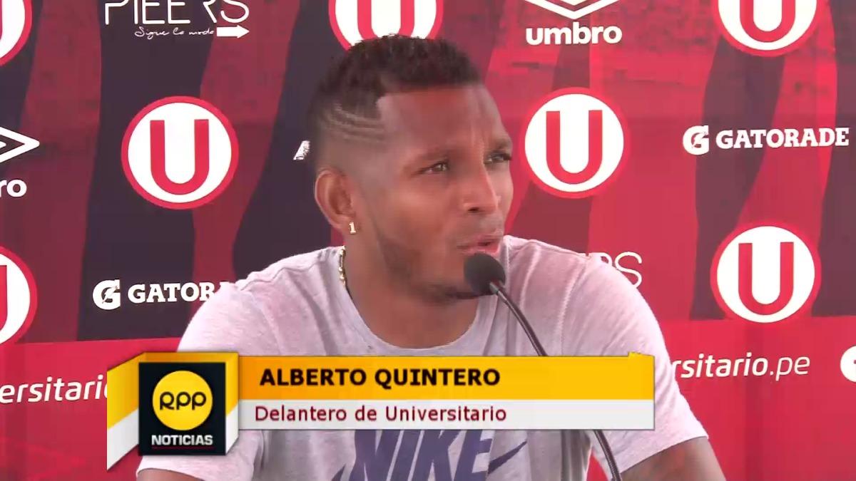 Alberto Quintero tiene 29 años y se adaptó gracias a los consejos de Luis Tejada.