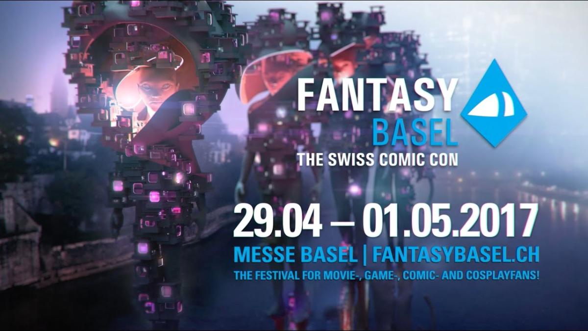 Este es la promoción de la Comic Con Suiza 2017.
