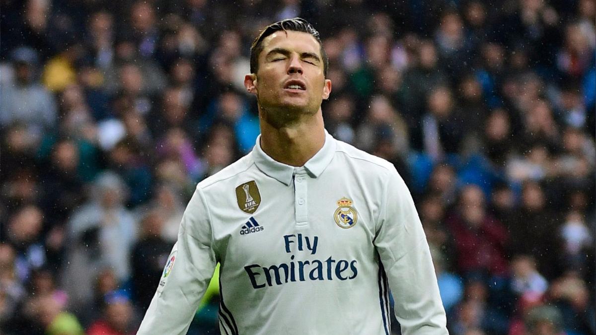 Cristiano Ronaldo se falló el 2-0 al minuto 57'.