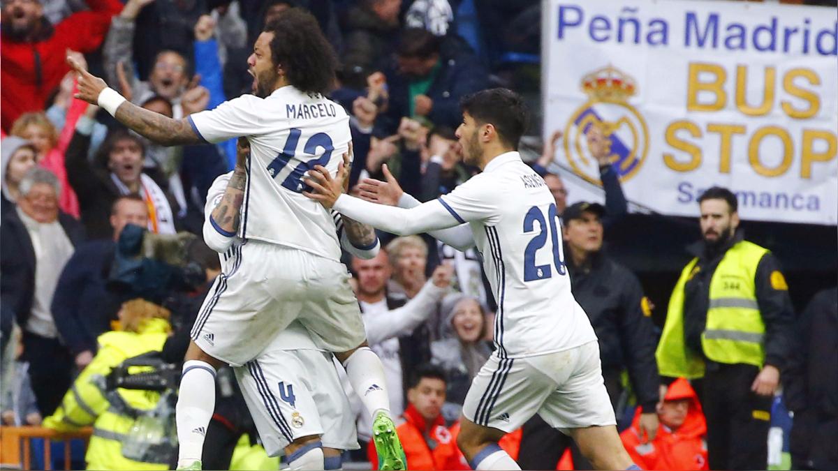 Real Madrid llegó a los 81 puntos y 53 goles a favor en La Liga 2016/2017.