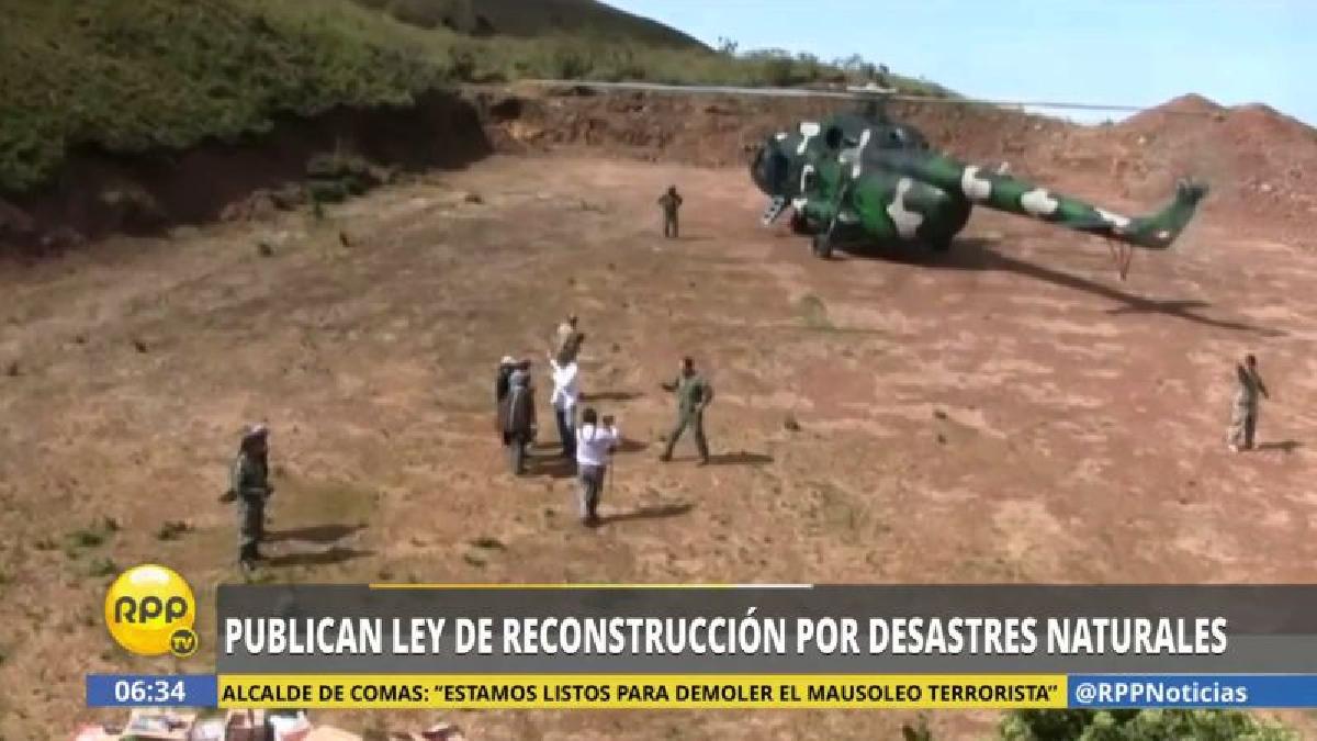 La Ley fue publicada hoy en las Normas Legales del diario oficial El Peruano.