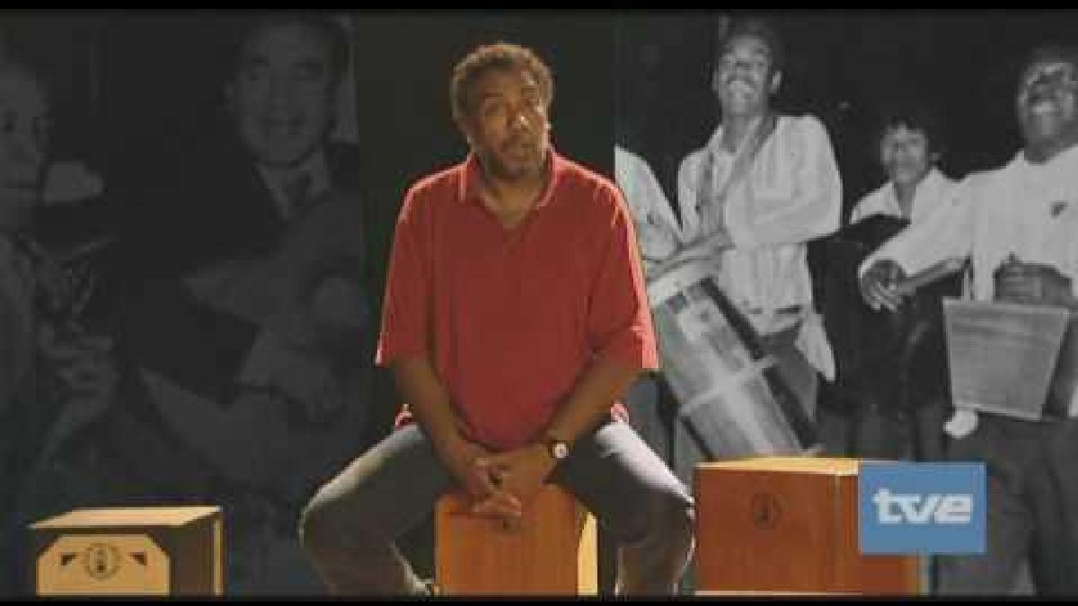 Rafael Santa Cruz explica el origen del cajón