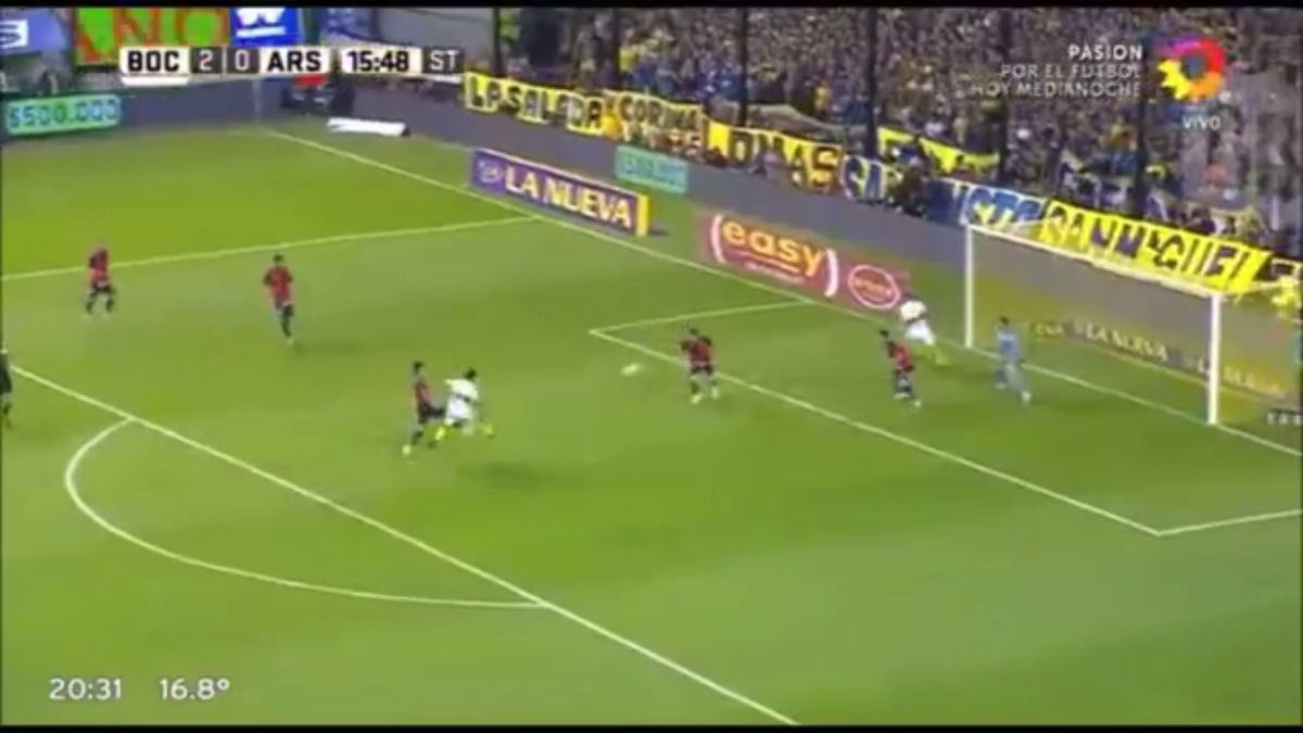 Gonzalo Maroni debutó en Primera División con la camiseta de Boca Juniors