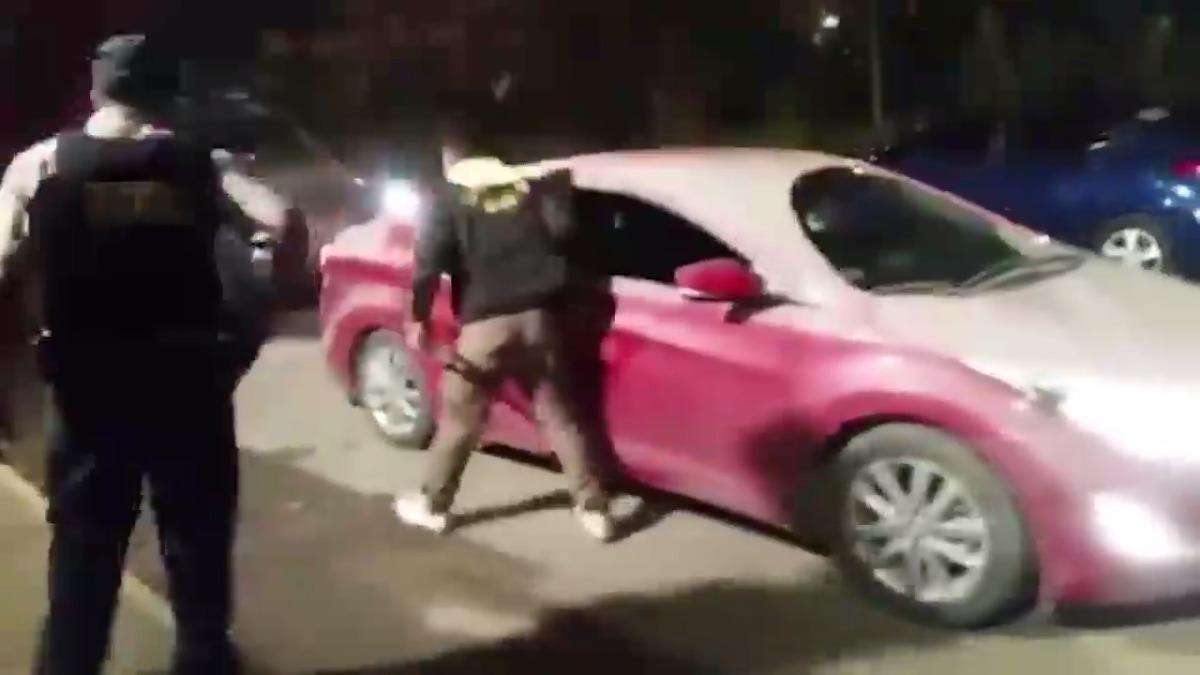 Dos de los detenidos registran antecedentes por robo agravado y hurto agravado.