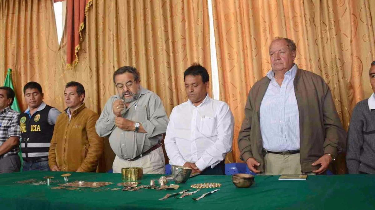 Walter Alba cobró notoriedad tras descubrir la tumba del Señor de Sipán en Lambayeque