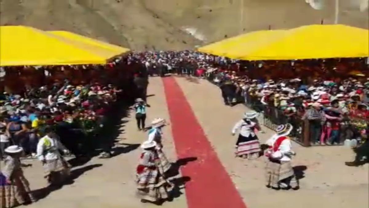 Peregrinación a santuario Virgen del Chapi.