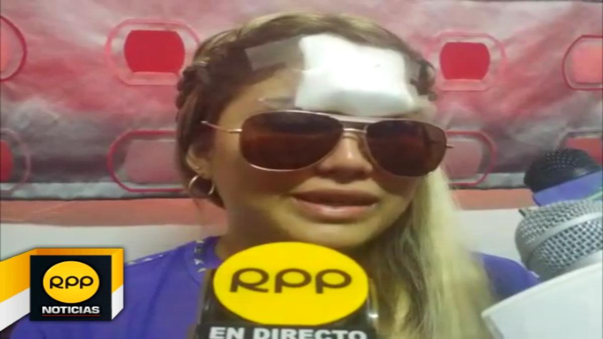 Victoria Vargas Aliaga denunciará a Octavio Gonzales Benavides tras la agresión que sufrió en un local de diversión.