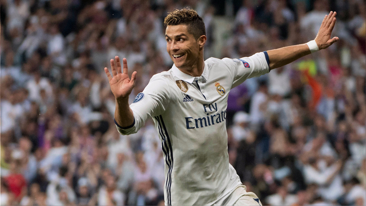 Cristiano Ronaldo anotó si décimo tanto en la Champions League 2016-17.