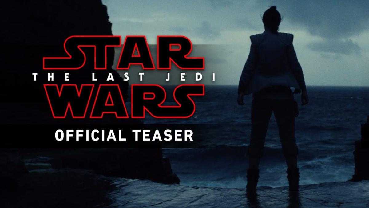 Este es el primer adelanto que se mostró de Episodio VIII: Los Últimos Jedi, que se estrenará en diciembre de 2017.