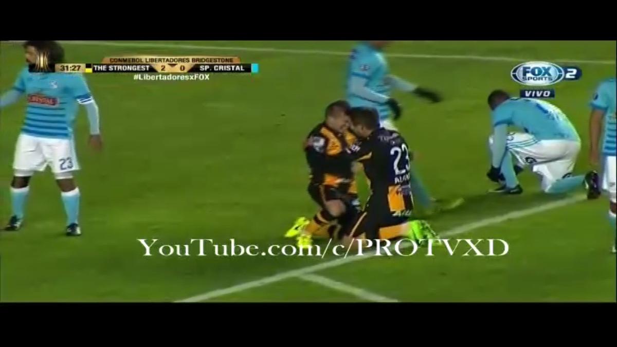 The Strongest en Lima había empatado 0-0 con Sporting Cristal.