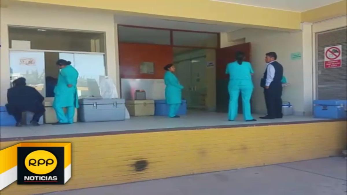 Se recomendó a la población no automedicarse y acudir a los centros de Salud.Moisés Puma