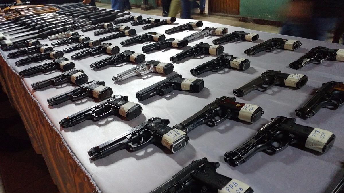 Más  de 7 mil armas de fuego circulan de manera ilegal en Lambayeque