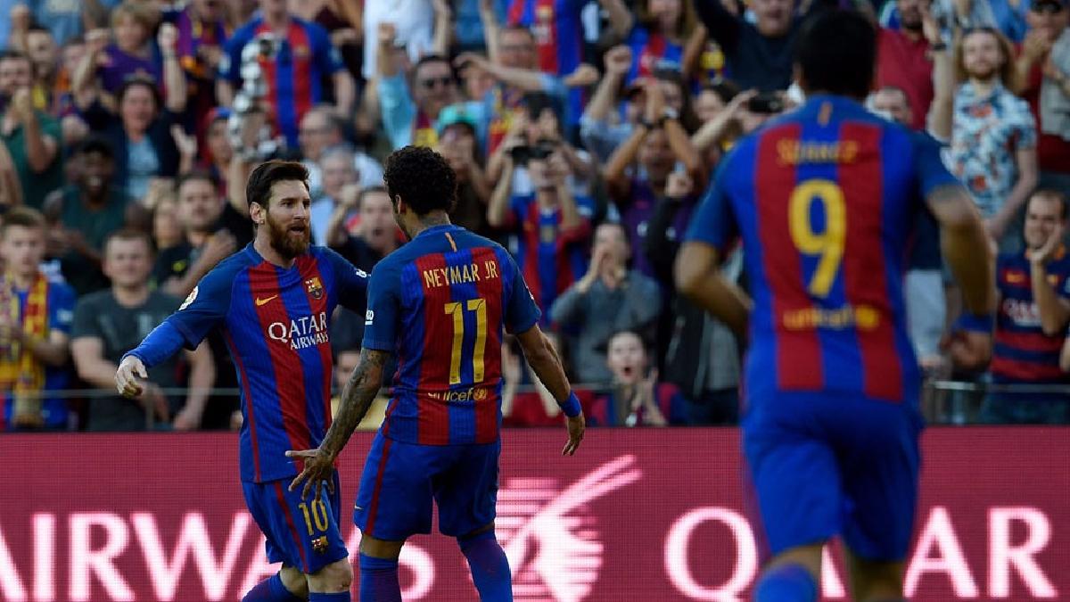 Barcelona sigue en lo más alto de la Liga Santander.