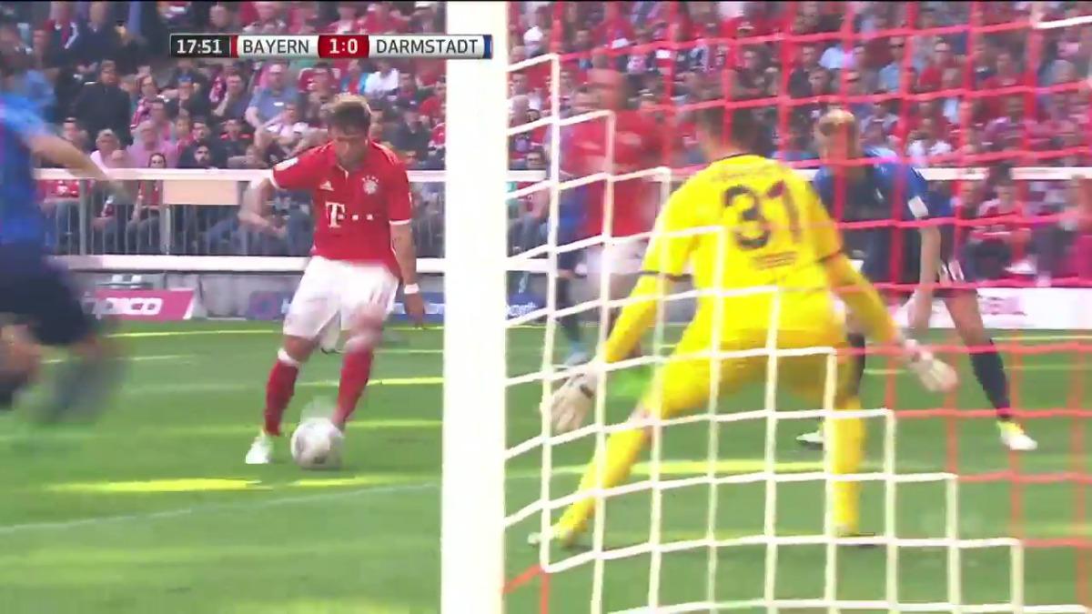 Bayern Munich ha gando la Bundesliga cinco veces consecutivas desde 2013.