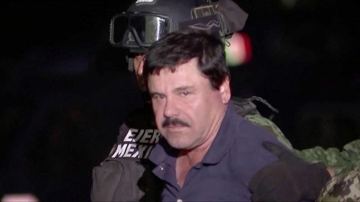 Joaquín 'El Chapo' Guzmán fue extraditado desde México el 19 de enero pasado, horas antes de que terminara su mandato el presidente Barack Obama.