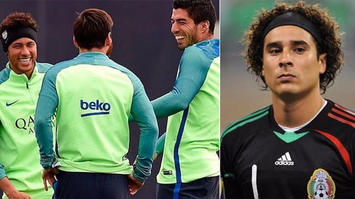 Neymar en la mira de las burlas de Messi y Luis Suárez.