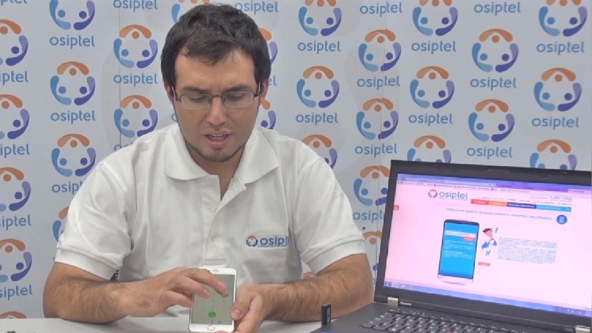 Este video del regulador Osiptel le explica cómo descartar que un equipo esté en la