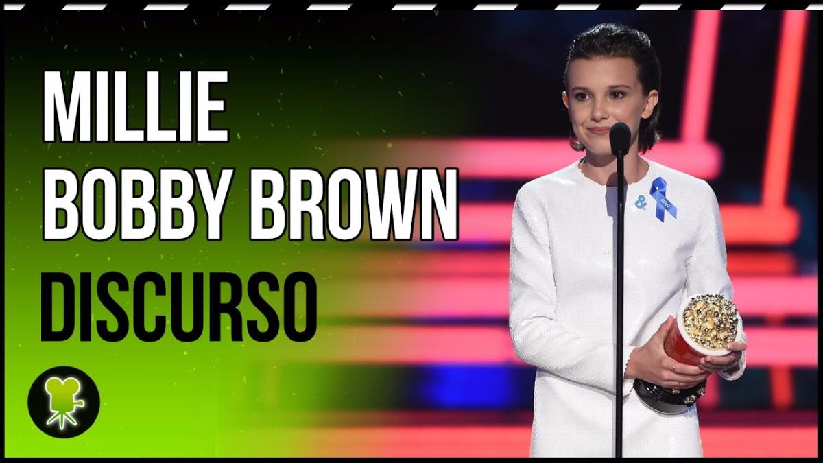 El discurso que dio Millie Bobby Brown tras ganar el premio.