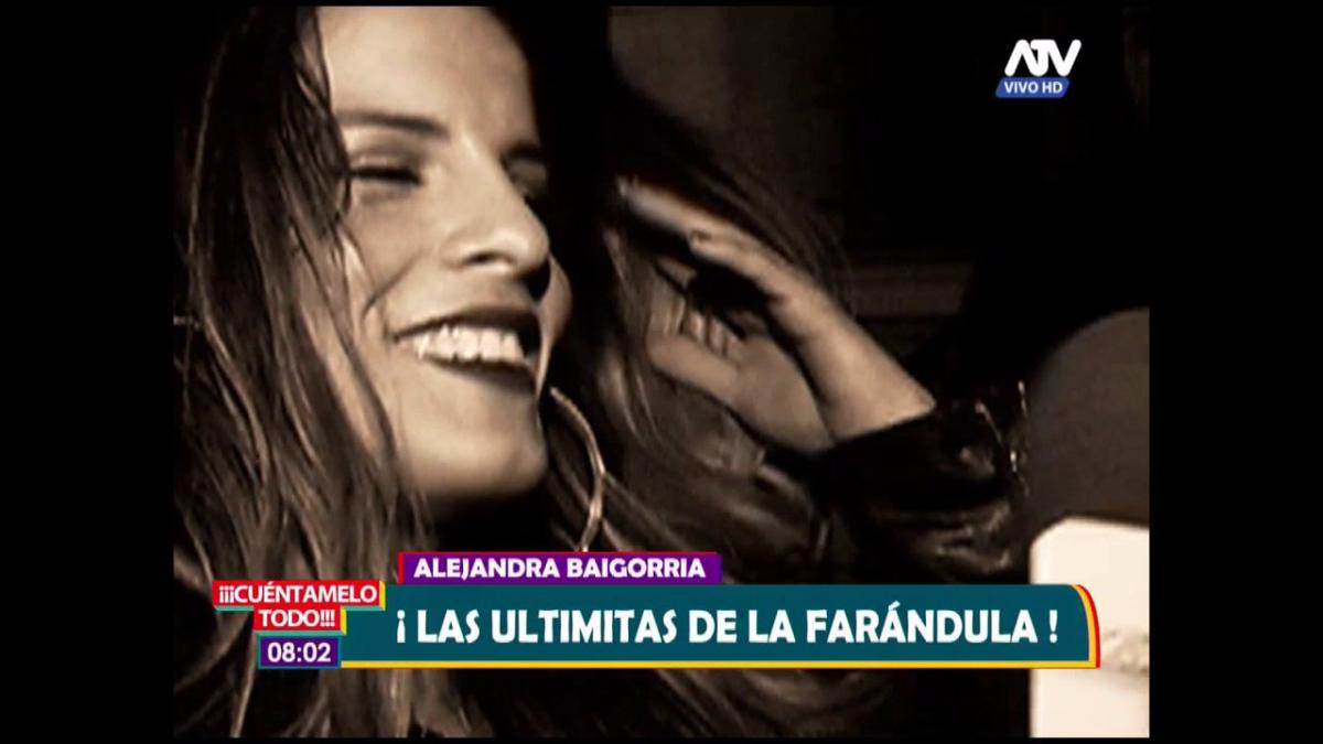 Alejandra Baigorria prefiere no hablar sobre el incidente.