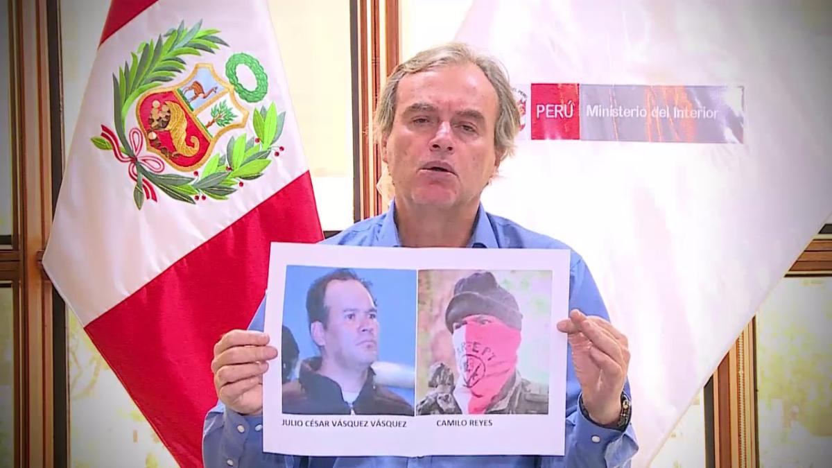 El ministro del Interior Carlos Basombrío señaló que ni apenas salió la entrevista, se pudo detectar que la identidad del comandante