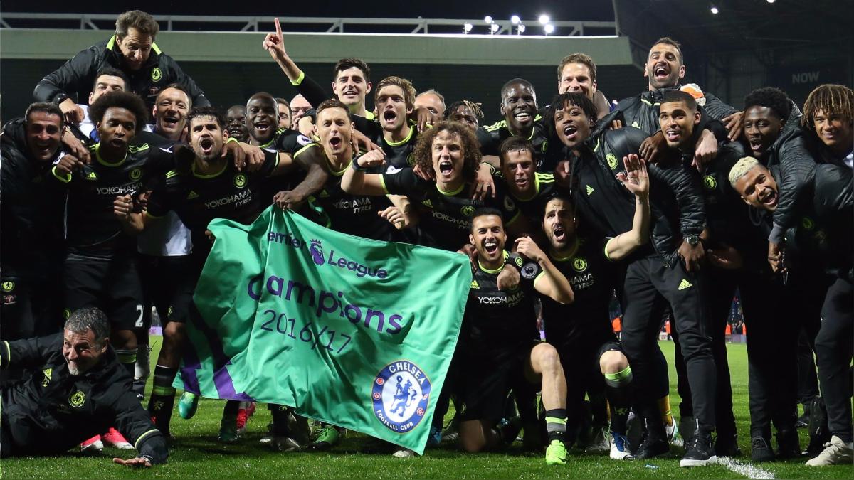 Revive el tanto de Michy Batshuayi para el título del Chelsea en Premier.