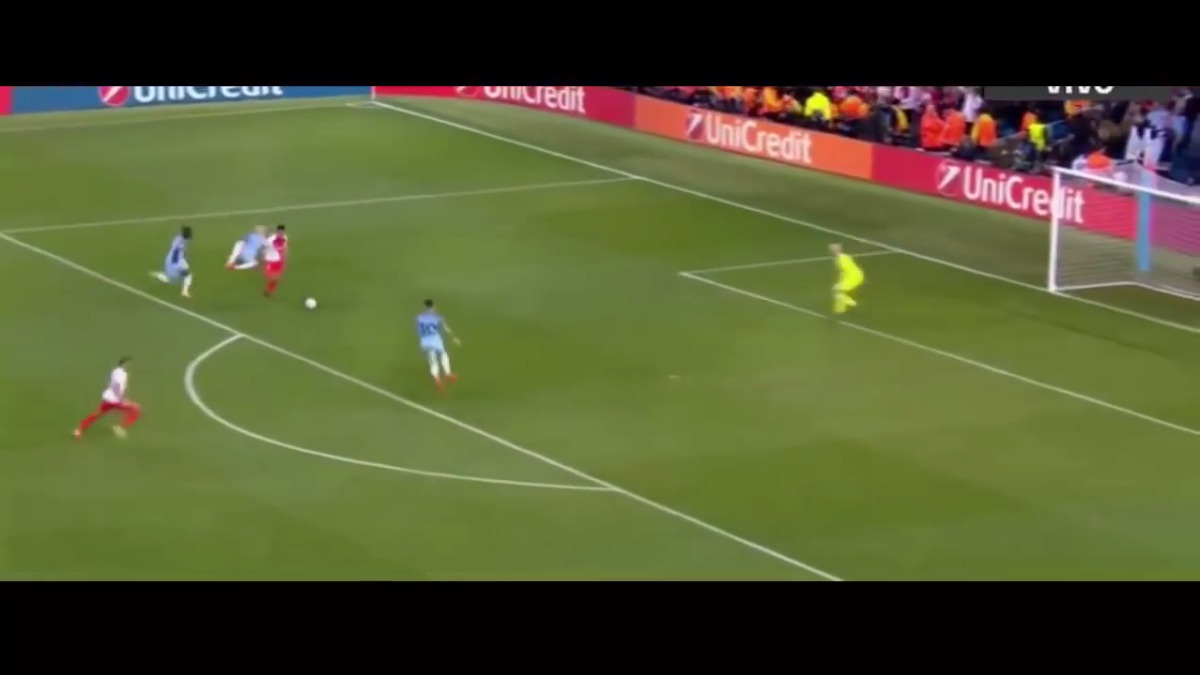Revive el tanto de Radamel Falcao al Manchester City en la Champions League.