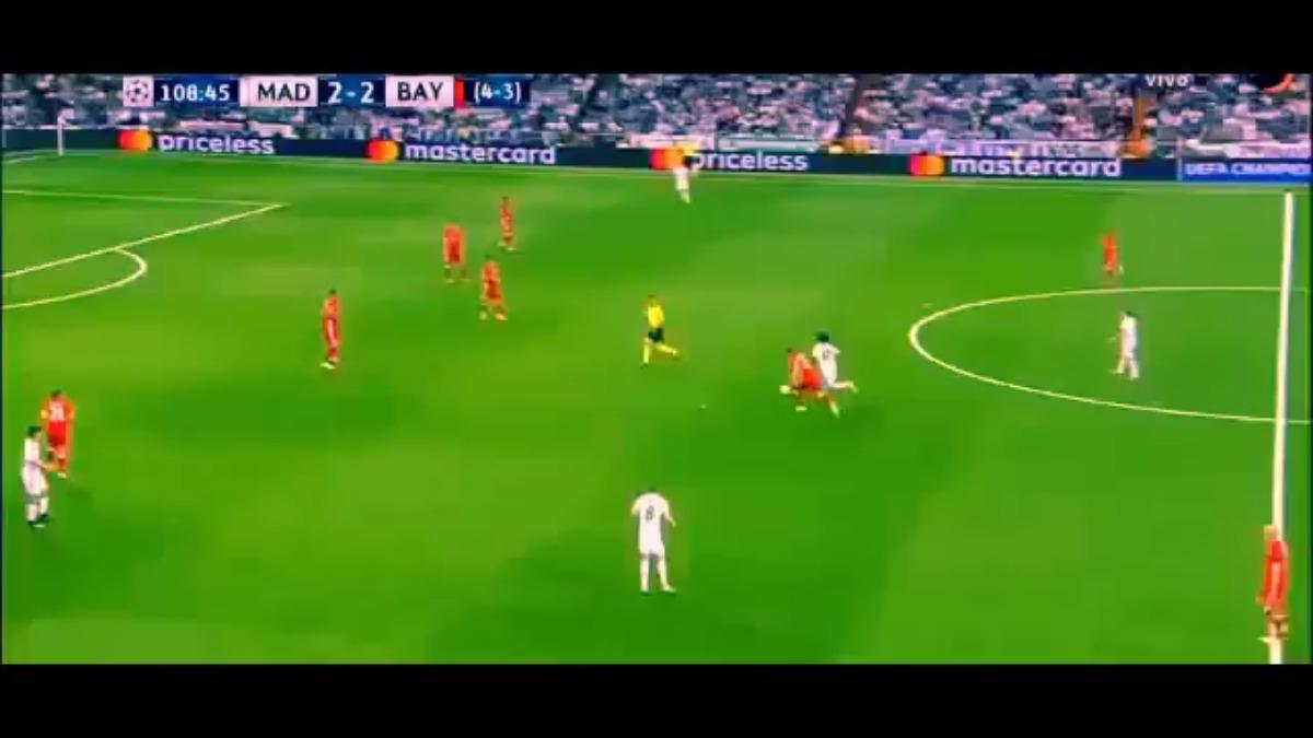 Revive la jugada de Marcelo para el tanto de Cristiano Ronaldo.