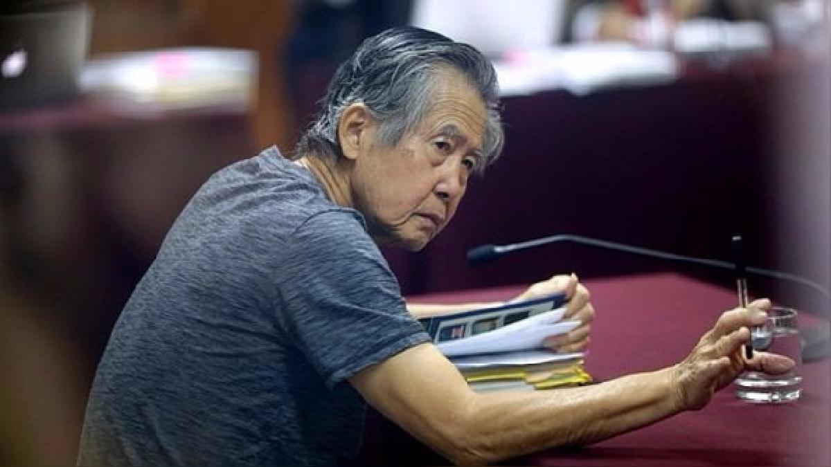 El expresidente Alberto Fujimori cumple una condena de 25 años de prisión efectiva.