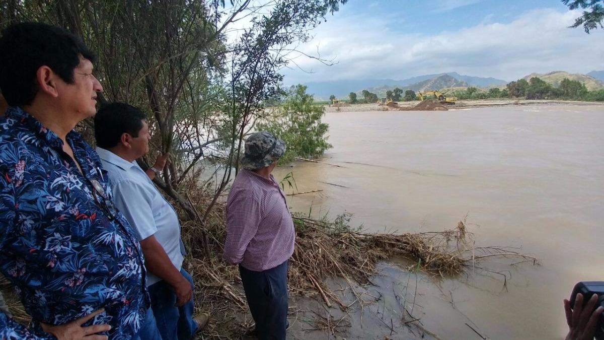 Autoridades supervisaron llegada de puente bailey en el distrito de Chongoyape.