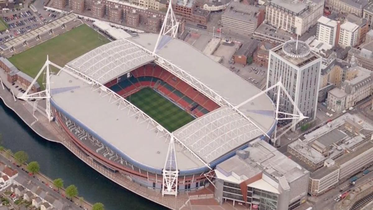 Conoce cómo luce el Estadio Nacional de Gales a través de fotografías.