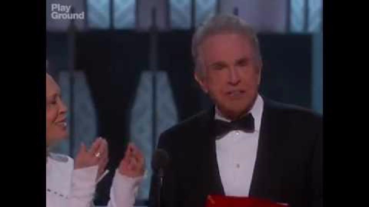 El histórico error en los premios Oscar.