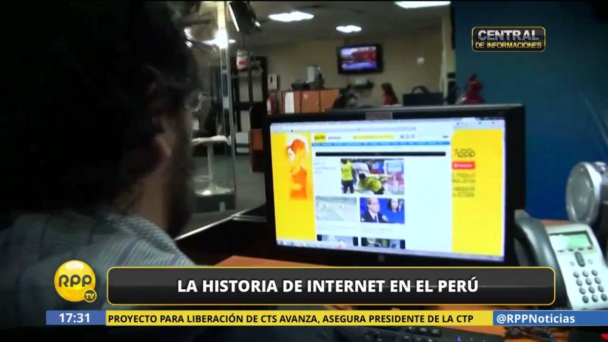 La historia de la internet y la primera cabina en el Perú.