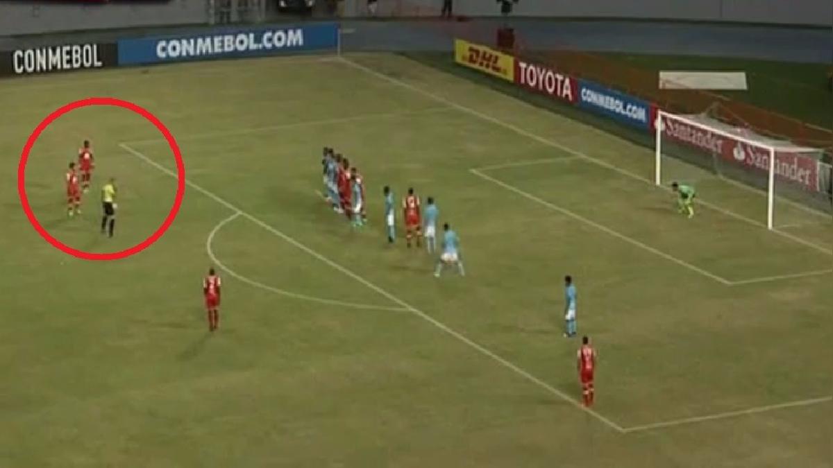 Revive el golazo de Arango a Sporting Cristal que significó el 1-0 del partido.